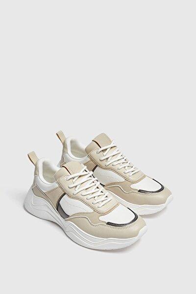 Kumaş Şeritli Spor Ayakkabı