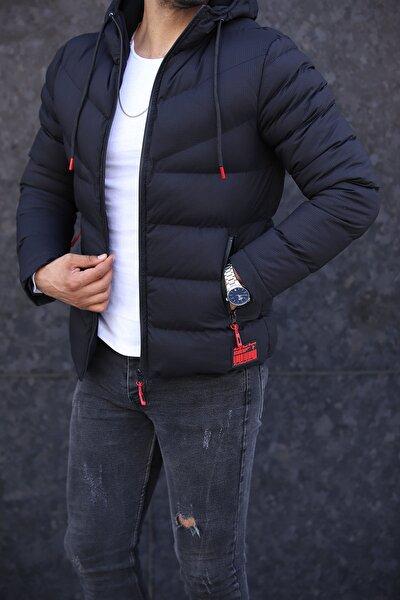Yeni Sezon Siyah Erkek Mont