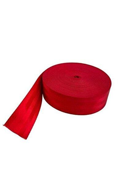 Kırmızı Renkli Spor Emniyet Kemeri 10 m