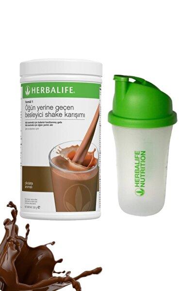 Shake Çikolata 550 gr + Shaker Hediyeli