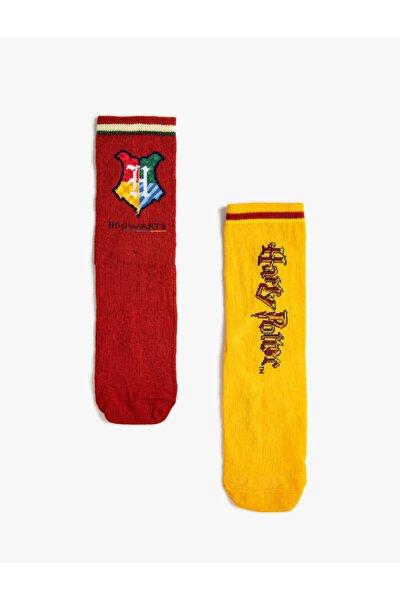 Harry Potter Lisansli Soket Çorap Seti 2'li Kadin