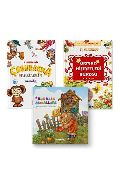Zen Çocuk Kitapları Seti (orman Hizmetleri Bürosu-çeburaşka Ve Arkadaşları-rus Halk Masalları)