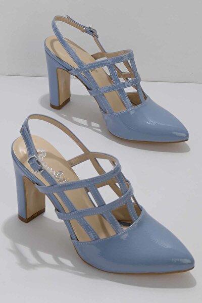 Mavi Rugan Kadın Klasik Topuklu Ayakkabı K01926031698