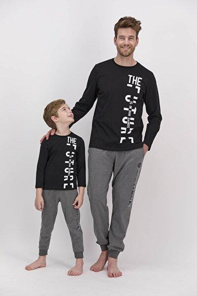 Rolypoly The Future Siyah Erkek Pijama Takımı
