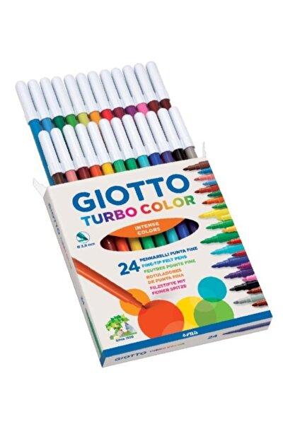 Gıotto Turbo Color Keçeli Boya Kalemi 24 Renk