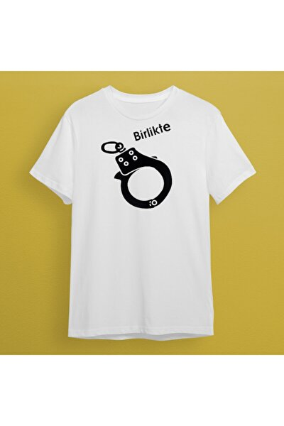 Kelepçe Birlikte Tshirt