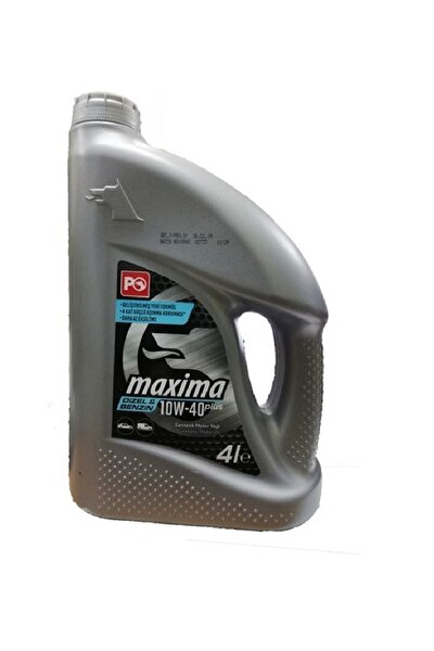Maxima Plus 10w-40 4 Litre 2021 Üretim