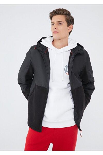 Kapüşonlu Siyah Ceket 010388-900