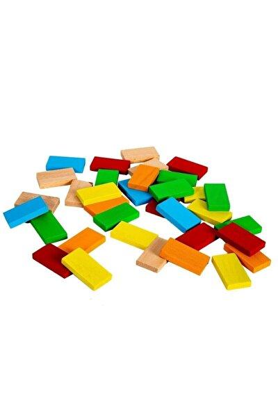100 Parça Ahşap Domino Seti