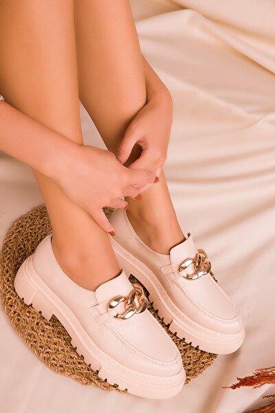 Kadın Bej Casual Ayakkabı 16501