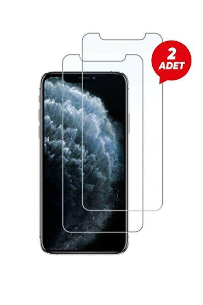 Iphone 12 Uyumlu  12pro 2 Adet Kırılmaz Temperli Şeffaf Ekran Koruyucu Telefon Camı
