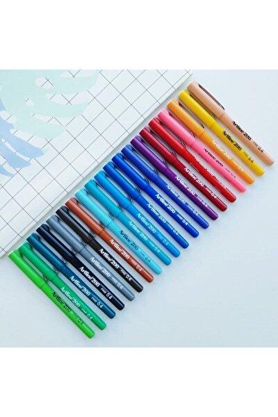 Yazı & Çizim Kalemi 200 Ince Uçlu 20 Renk