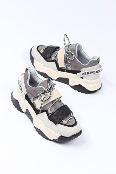 Kalın Taban Multı Kadın Sneaker Spor Ayakkabı