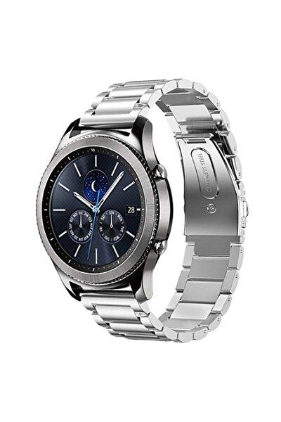 Watch 3 / Watch 3 Pro Uyumlu Klasik Paslanmaz Çelik Metal Kordon 46mm