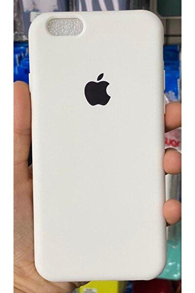 Iphone6 / 6s Uyumlu Logolu Beyaz Lansman Içi Kadife Aa Kalite