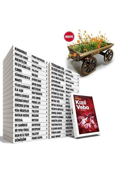 Büyük Dünya Klasikleri Seti - 39 Kitap Ve Küçük Kağnı Çiçeklik