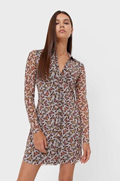 Tül Polo Elbise