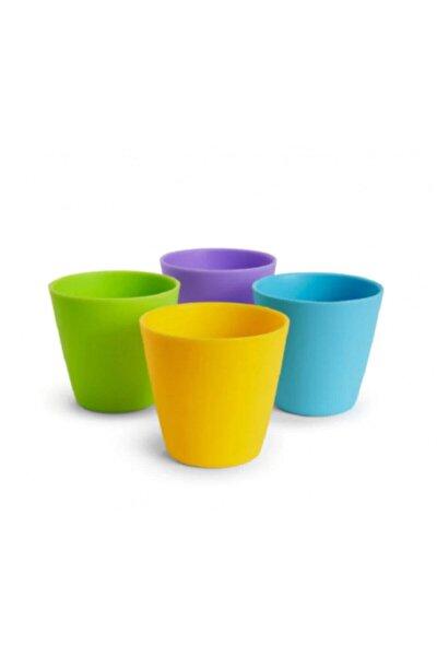 Renkli Modern Bardak 4'lü Set