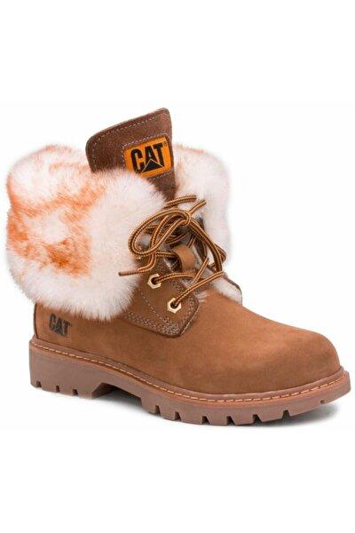 Cat Utah Fur Kadın Tarçın Nubuk Bot