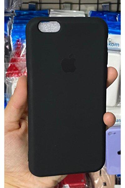 Iphone6 / 6s Uyumlu Logolu Siyah Lansman Içi Kadife Aa Kalite