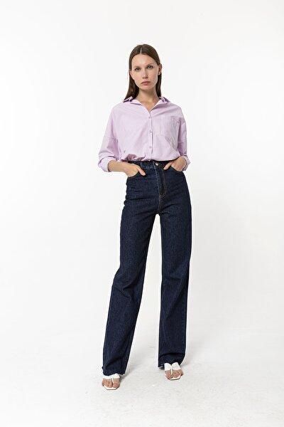 Straight Vintage Jean Lacivert