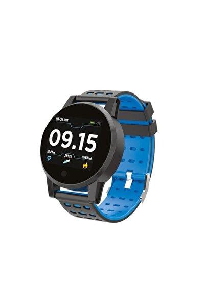 Pssw06 Smart Round Akıllı Saat Mavi