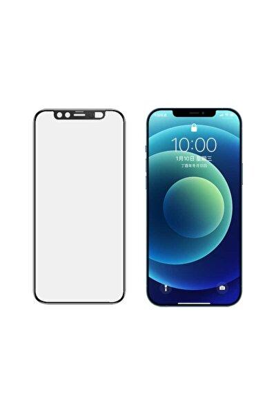 Iphone 11 Pro Max Uyumlu Ekran Koruyucu Ön Kamera Görüntü Engelleyici Sürgülü Tam Ekran Cam