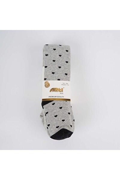 Damla Kız Havlu Külotlu Çorap
