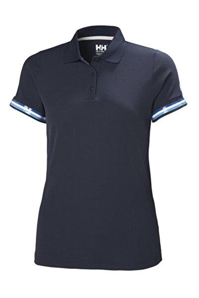 W Hp Code Zero Kadın Polo T-shirt Lacivert