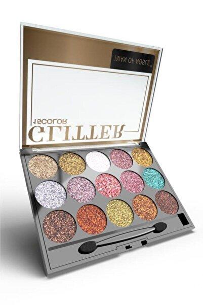 Glitter 15'li Simli Far Paleti 02