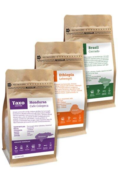Taxo Yöresel Filtre Kahve Seti 3x250gr (öğütülmüş)