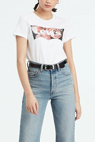 Kadın The Perfect Housemark T-shirt 17369-0631