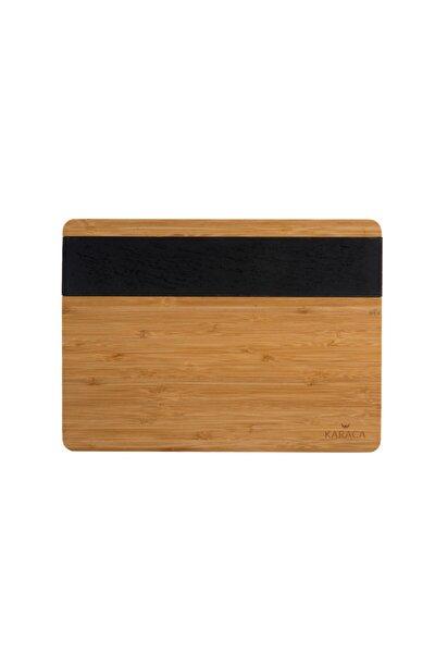 Black Wood Kesme Tahtası-L