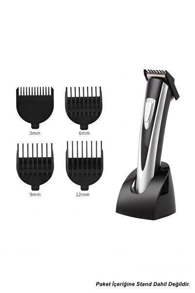 Şarjlı Profesyonel Saç Sakal Kesme Traş Tıraş Makinesi Seti