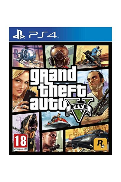 Grand Theft Auto 5 Ps4 Oyun