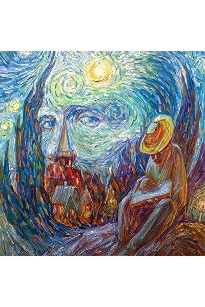 Van Gogh Ve Yıldızlı Gece Elmas Mozaik Tablo 58x58cm