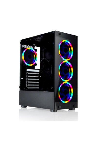 Gamecase Tropicano 4x120 Mm Rainbow Fanlı Oyuncu Kasası - 8307