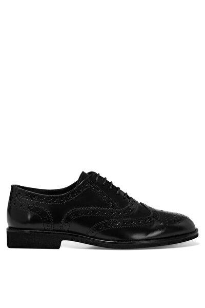 PERAN Siyah Kadın Oxford Ayakkabı 100582061
