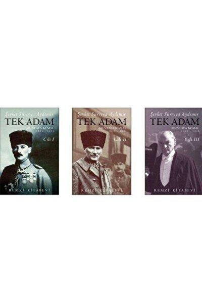 Tek Adam Mustafa Kemal (3 Cilt Takım) (büyük Boy)