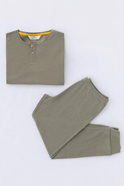 Erkek Çocuk Rıb 2Li Pijama Takımı