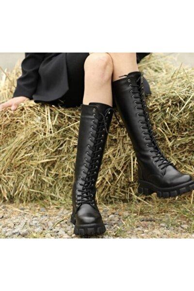 Taylor Kadın Siyah Çizme