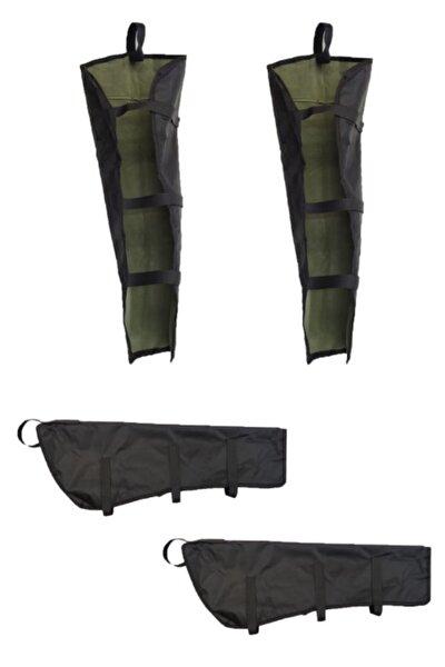 Kışlık Motosiklet Yağmur Geçirmez Pantolon Üzeri Pratik Giyilen 80cm Koruyucu Qrz13