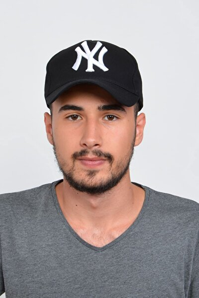 Erkek Siyah New York Şapka