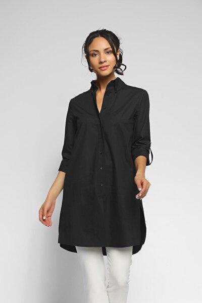 Kadın Siyah Tunik  Gömlek