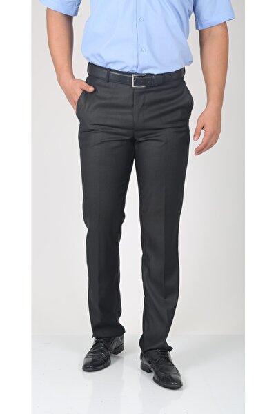 Erkek Füme Pilesiz Kumaş Pantolon
