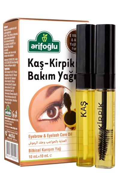 Kaş-Kirpik Bakım Yağı Eyebrow & Eyelash Care Oil 10 mL+10 mL E Vitamini & Argan Yağlı Özel Formül