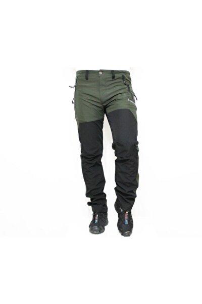Mudwıll Polarsız Softshell Siyah Yeşil Pant 250101