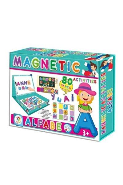 Magnetic Alfabe Aktivite Oyun Seti 58 Parça