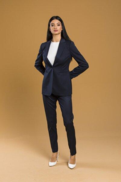 Kadın Lacivert Ofis Takım Elbise