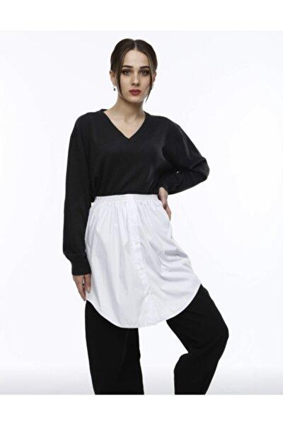 Kadın Beyaz Gömlek ��çlik Etek
